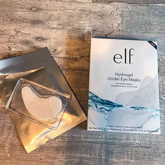 e.l.f. Hydrogel Under Eye Masks