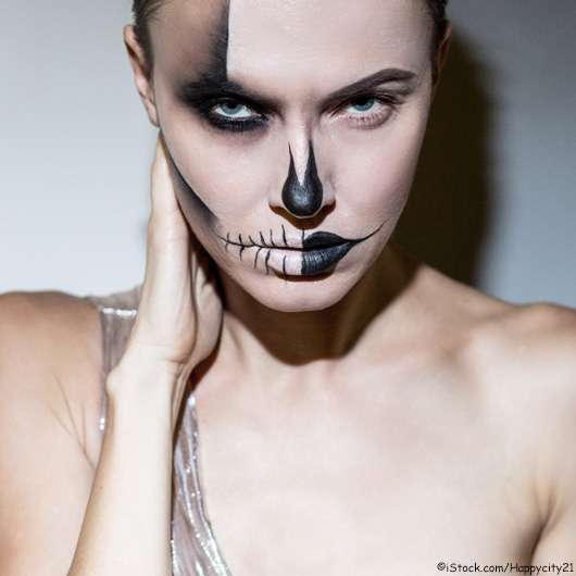 Schaurig schön? Halloween – Grusel-Make-up