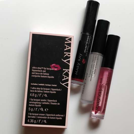 Mary Kay Ultra Stay Lip Lacquer Kit, Farbe: Plum (LE)