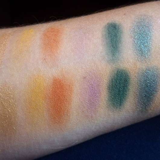 Sleek MakeUP i-Divine Mineral Based Eyeshadow Palette, Farbe: Colour Carnage - Swatches