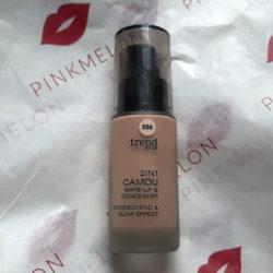 Produktbild zu trend IT UP 2in1 Camou Make-up & Concealer – Farbe: 006