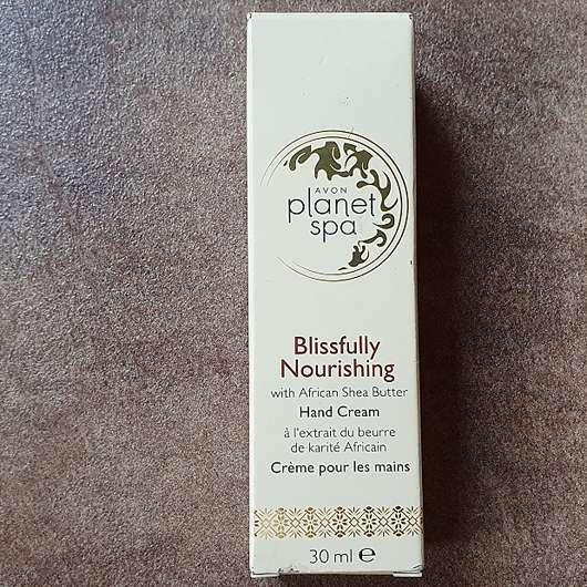 AVON planet spa Blissfully Nourishing Hand Cream