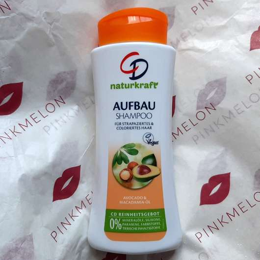 <strong>CD</strong> Naturkraft Aufbau Shampoo (Avocado & Macadamia-Öl)