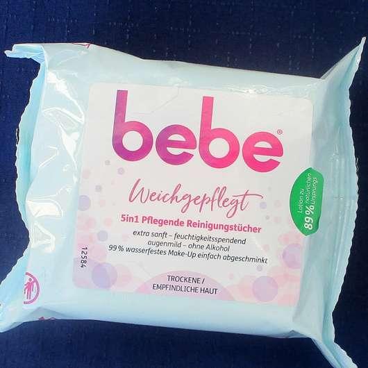 <strong>bebe®</strong> Weichgepflegt 5in1 Pflegende Reinigungstücher