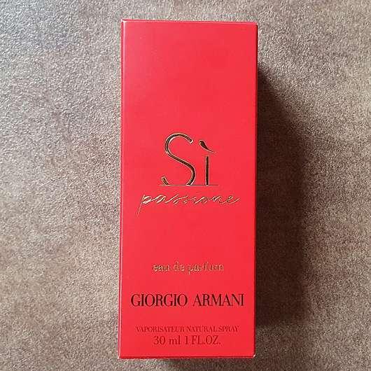 <strong>Giorgio Armani</strong> Si Passione Eau de Parfum