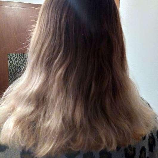 PARSA Beauty Extra-Volumenbürste mit Lotus (groß; ø 44mm) - Haare nachher
