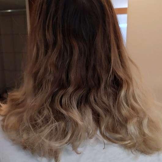 PARSA Beauty Extra-Volumenbürste mit Lotus (groß; ø 44mm) - Haare vorher