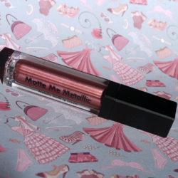 Produktbild zu Sleek MakeUP Matte Me Metallic Liquid Lip Cream – Farbe: Rusted Rose