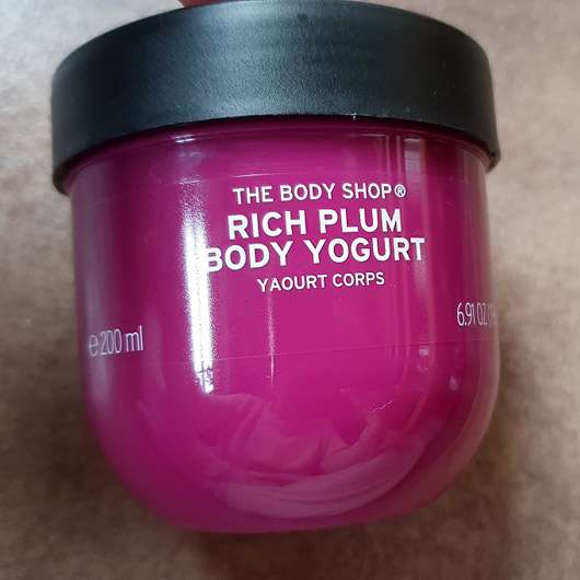 The Body Shop Rich Plum Body Yogurt (LE)