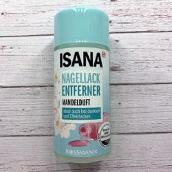 Produktbild zu ISANA Nagellackentferner mit Mandelduft