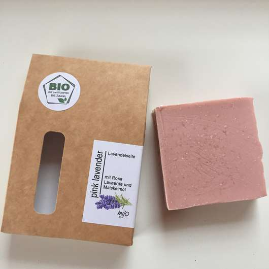 Mijo Naturkosmetik PINK LAVENDER Lavendelseife mit Bio Olivenöl