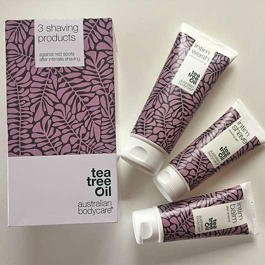 Australian Bodycare Tea Tree Oil Set für die Intimrasur
