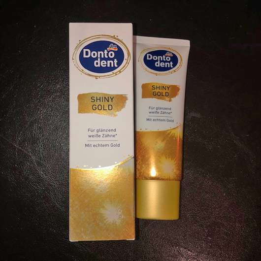 <strong>DONTODENT</strong> Shiny Gold Zahncreme