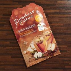 Produktbild zu Dresdner Essenz Winterwärme Aroma-Schaumbad mit warm-fruchtigem Duft