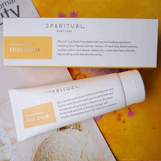 <strong>SpaRitual</strong> Citrus Cardamom Foot Balm