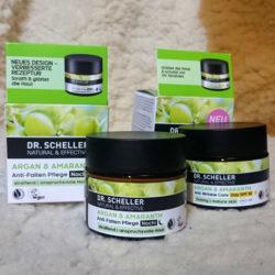 Produktbild zu DR. SCHELLER Argan & Amaranth Anti-Falten Pflege Nacht