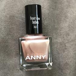 Produktbild zu ANNY Cosmetics Nagellack – Farbe: front row babes (LE)