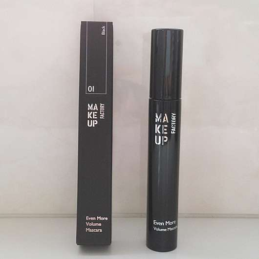 <strong>Make up Factory</strong> Even More Volume Mascara - Farbe: 01 Black