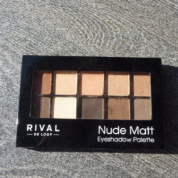 Produktbild zu Rival de Loop Nude Matt Eyeshadow Palette – Farbe: 01 Nude Matt