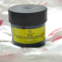 Produktbild zu The Body Shop Hemp Overnight Nourishing Rescue Mask