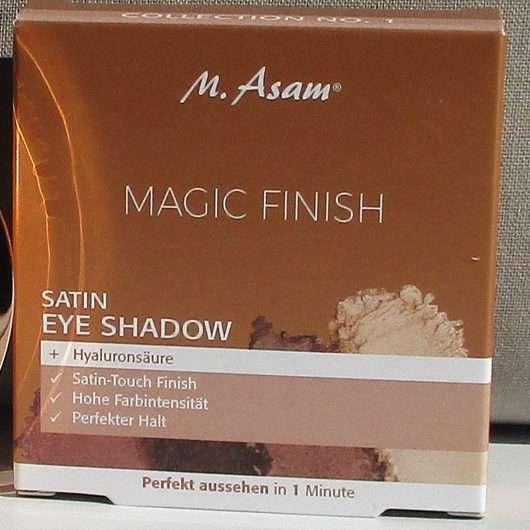 <strong>M. Asam</strong> MAGIC FINISH Satin Eye Shadow Collection No. 1