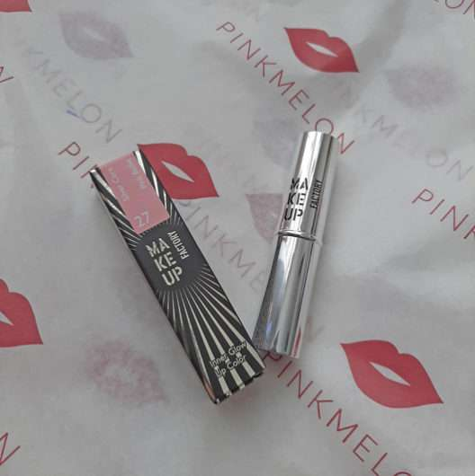 <strong>Make up Factory</strong> Inner Glow Lip Color - Farbe: 27 Pink Ballet (LE)