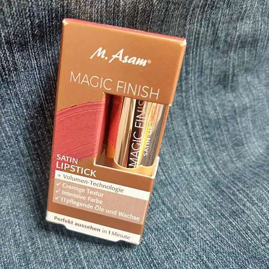 <strong>M. Asam</strong> MAGIC FINISH Satin Lipstick – Farbe: Almond