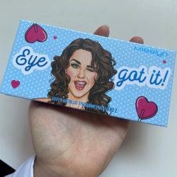 Produktbild zu Misslyn Matt X Metallic Eyeshadow Palette – Farbe: 2 Eye Got It!