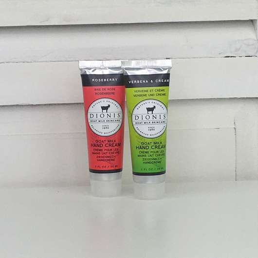 DIONIS Goat Milk Hand Cream Duo