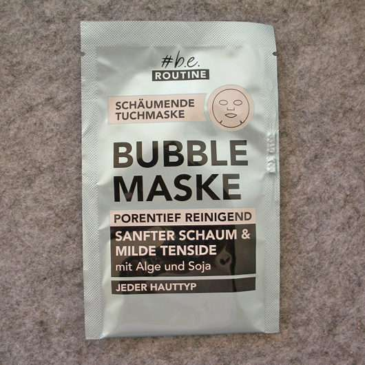 #be routine Bubble Mask