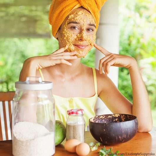 Sommerliche DIY Gesichtsmasken