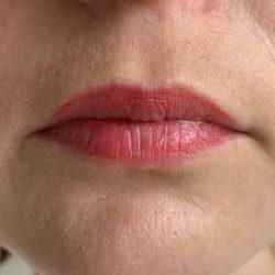 Lippen 4 Stunden später (inkl. essen und trinken)