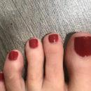 Fußnägel mit trend IT UP Quick Dry Nail Polish, Farbe: 075