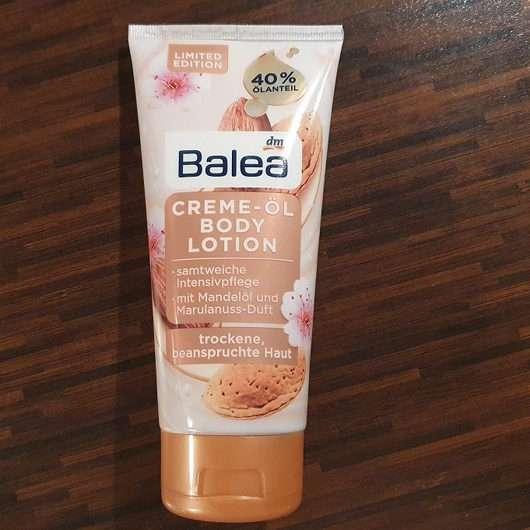 Balea Creme-Öl Bodylotion mit Mandelöl und Marulanussduft (LE)