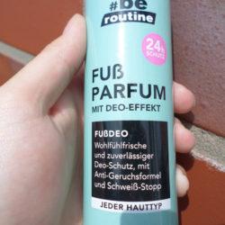 #be routine Fuß Parfum mit Deo-Effekt