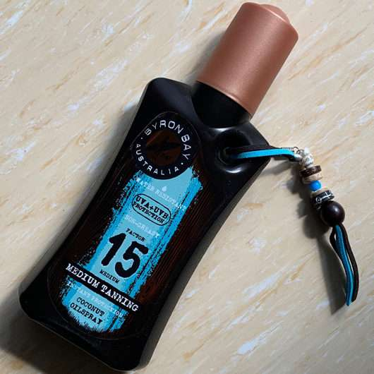 BYRON BAY AUSTRALIA Coconut Oilspray LSF 15 (mit Kokosduft)