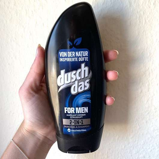 duschdas for Men 2-in-1 Duschgel & Shampoo