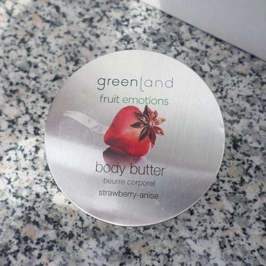 Greenland Body Butter Erdbeere-Anis