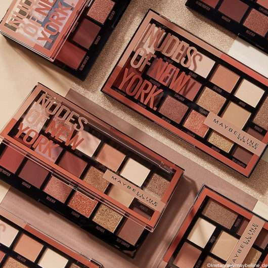 Maybelline Nudes of New York