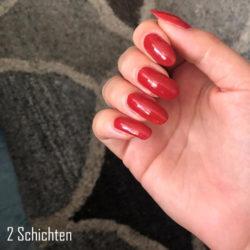 trend IT UP Quick Dry Nail Polish, Farbe: 075 - 2 Schichten auf den Nägeln