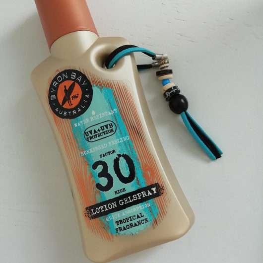 Byron Bay Australia Lotion Gelspray LSF 30 (Tropical Fragrance)