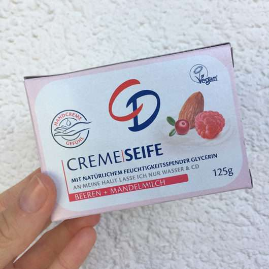 <strong>CD</strong> Creme Seife Beeren + Mandelmilch