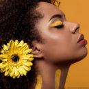 Gelb ist DIE aktuelle Trendfarbe für eure Augen
