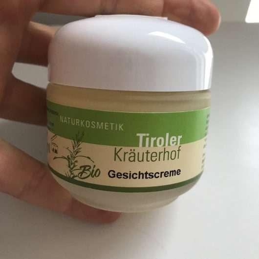 Tiroler Kräuterhof Naturkosmetik Bio Gesichtscreme