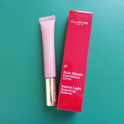 Clarins Instant Light Natural Lip Perfector, Farbe: 07 Toffee Pink Shimmer