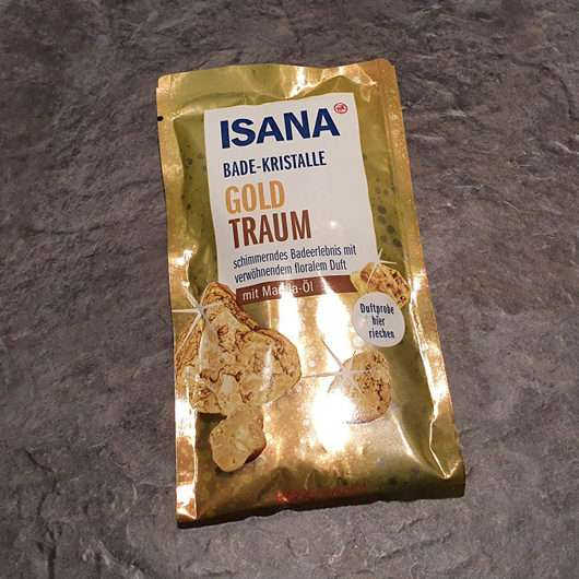 ISANA Bade-Kristalle Goldtraum (LE)