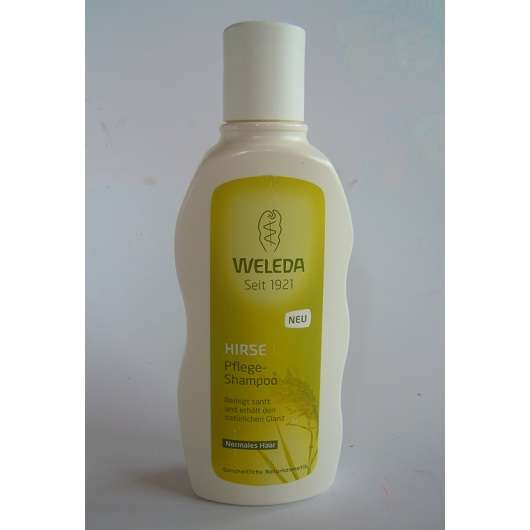 test shampoo weleda hirse pflege shampoo testbericht von seli. Black Bedroom Furniture Sets. Home Design Ideas