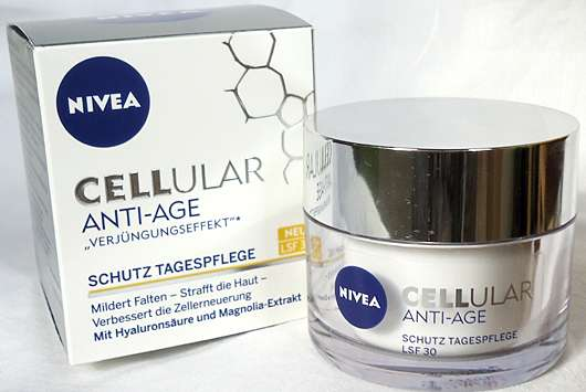 Test - Tagespflege - NIVEA CELLULAR ANTI-AGE Schutz..