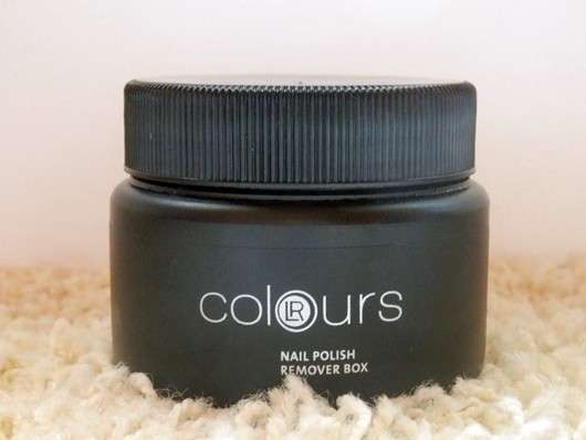 LR Colours Nail Polish Remover-Box
