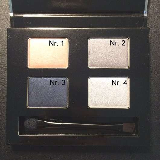 The Body Shop Winter Eyeshadow Palette, Farbe: Swinging Silver (LE)